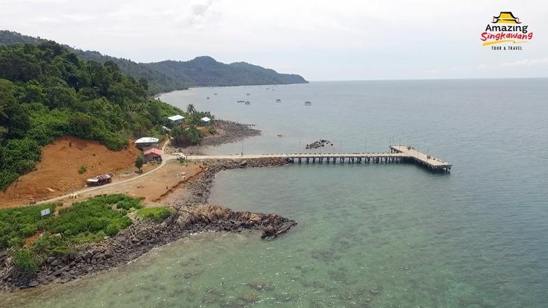 lokasi pulau lemukutan kalbar