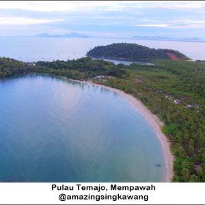 temajo bay resort, pulau temajo